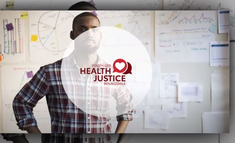 Health Justice Live Stream Screen