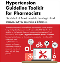 Hypertension guideline toolkit for pharmacists