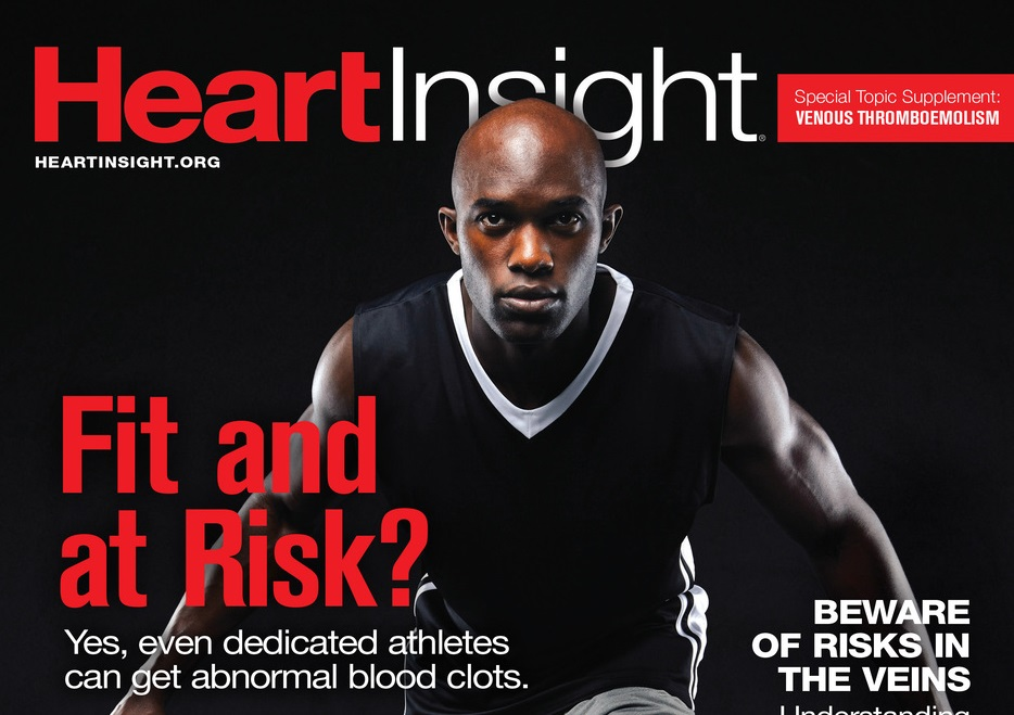 Heart Insight cover for venous thromboembolism supplement