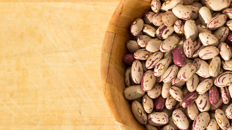 Bowl of dried beans