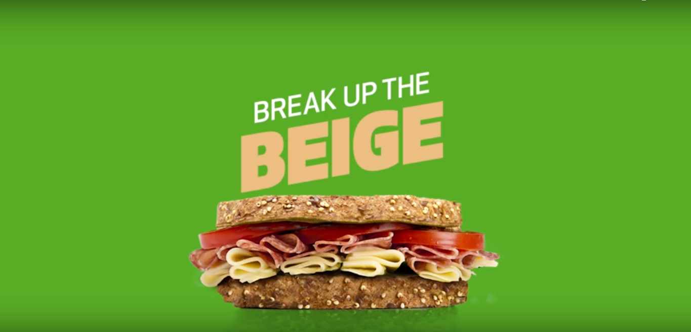 Break up the beige