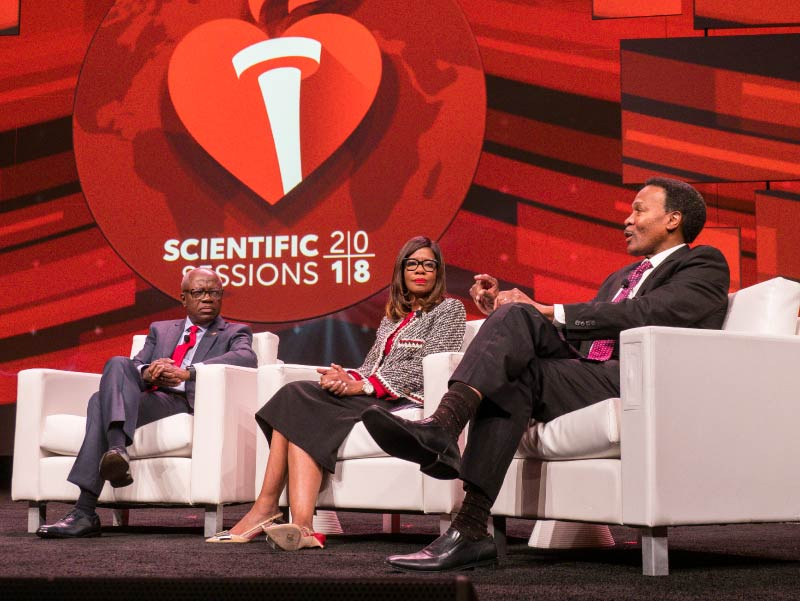 Health equities panel of African-American doctors at Scientific Sessions 2018