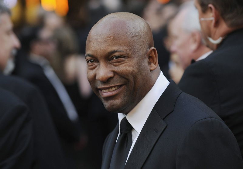 Director John Singleton, photographed at the Academy Awards in 2008. (AP Photo/Chris Pizzello, File)